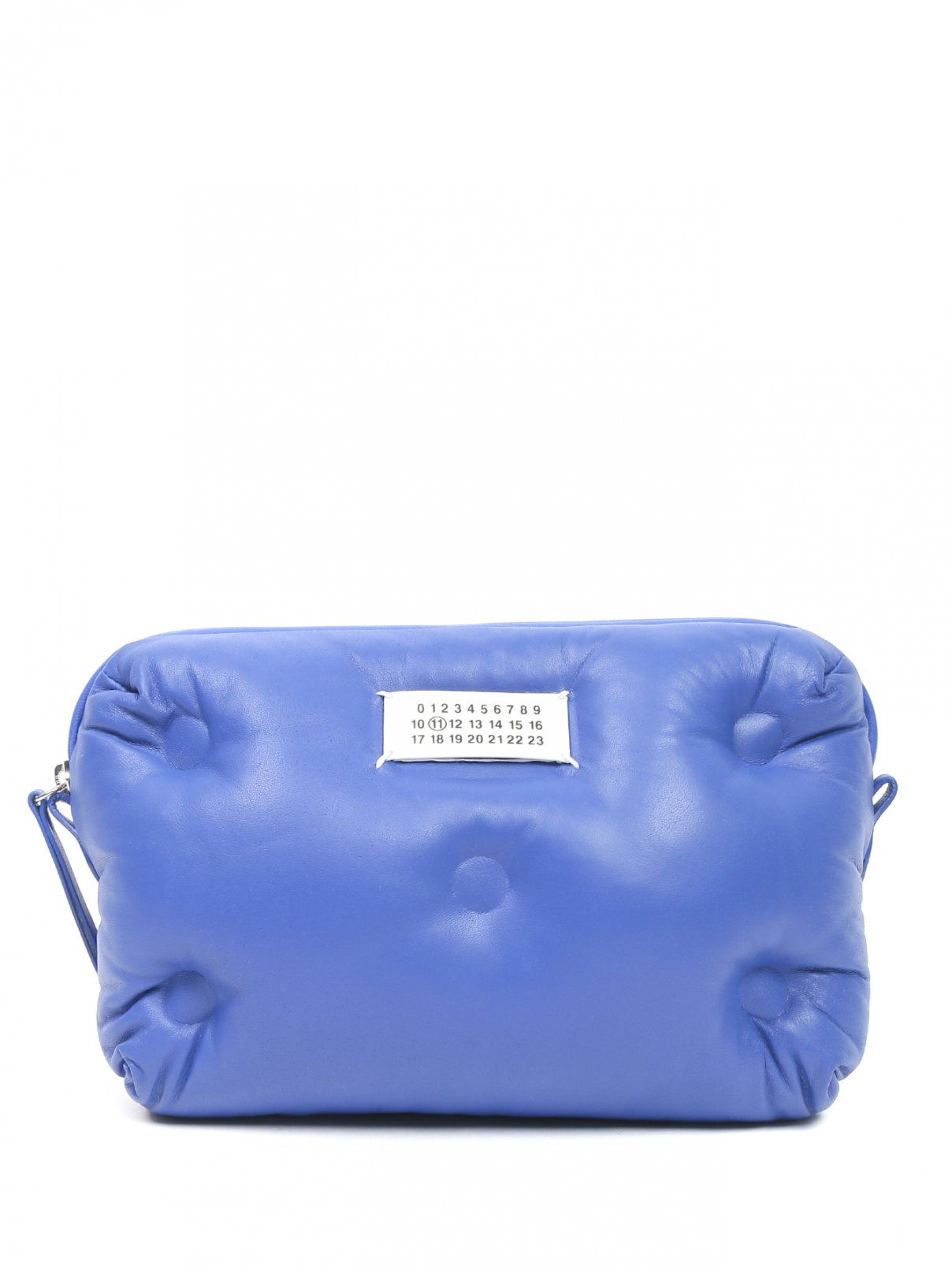 Стеганая сумка из кожи на молнии Maison Martin Margiela  –  Общий вид