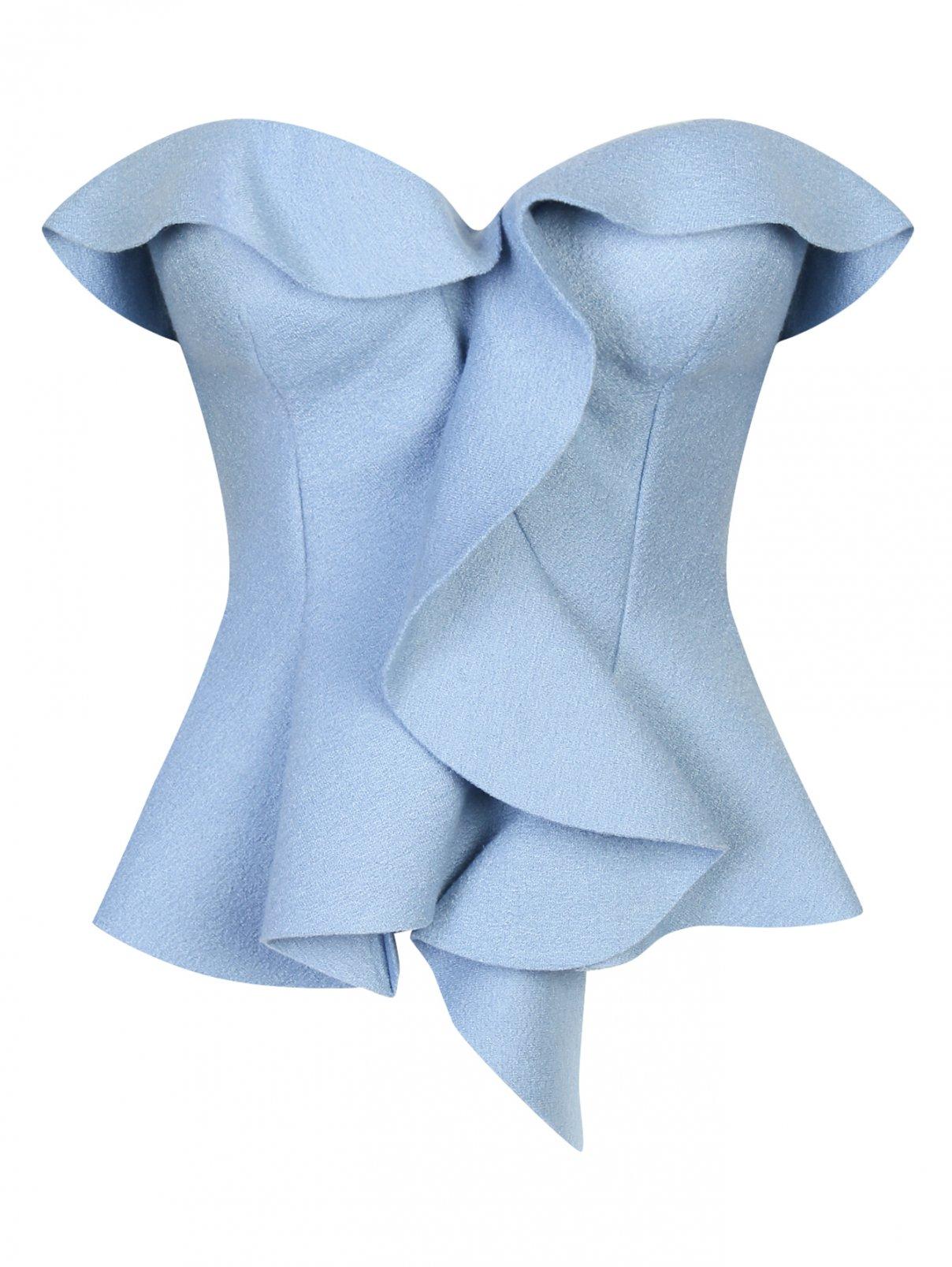 Топ из шерсти и шелка Ermanno Scervino  –  Общий вид