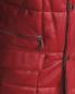 Стеганая куртка из кожи с боковыми карманами Bosco Fresh  –  Деталь