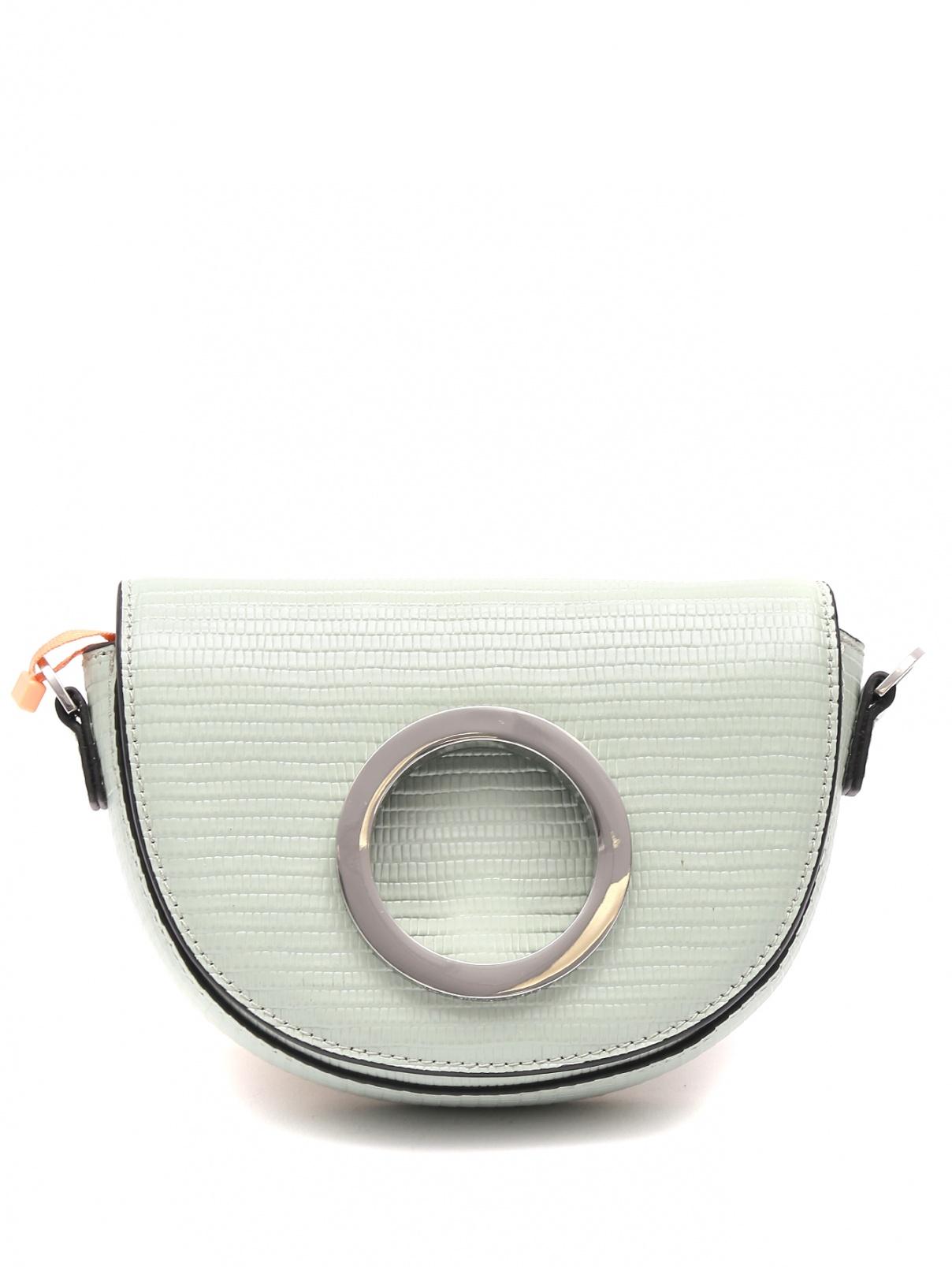 Мини-сумка из кожи на цепочке Max&Co  –  Общий вид