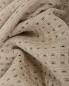 Плед из фактурной шерстяной ткани с бахромой 140 x 200 Agnona  –  Обтравка1