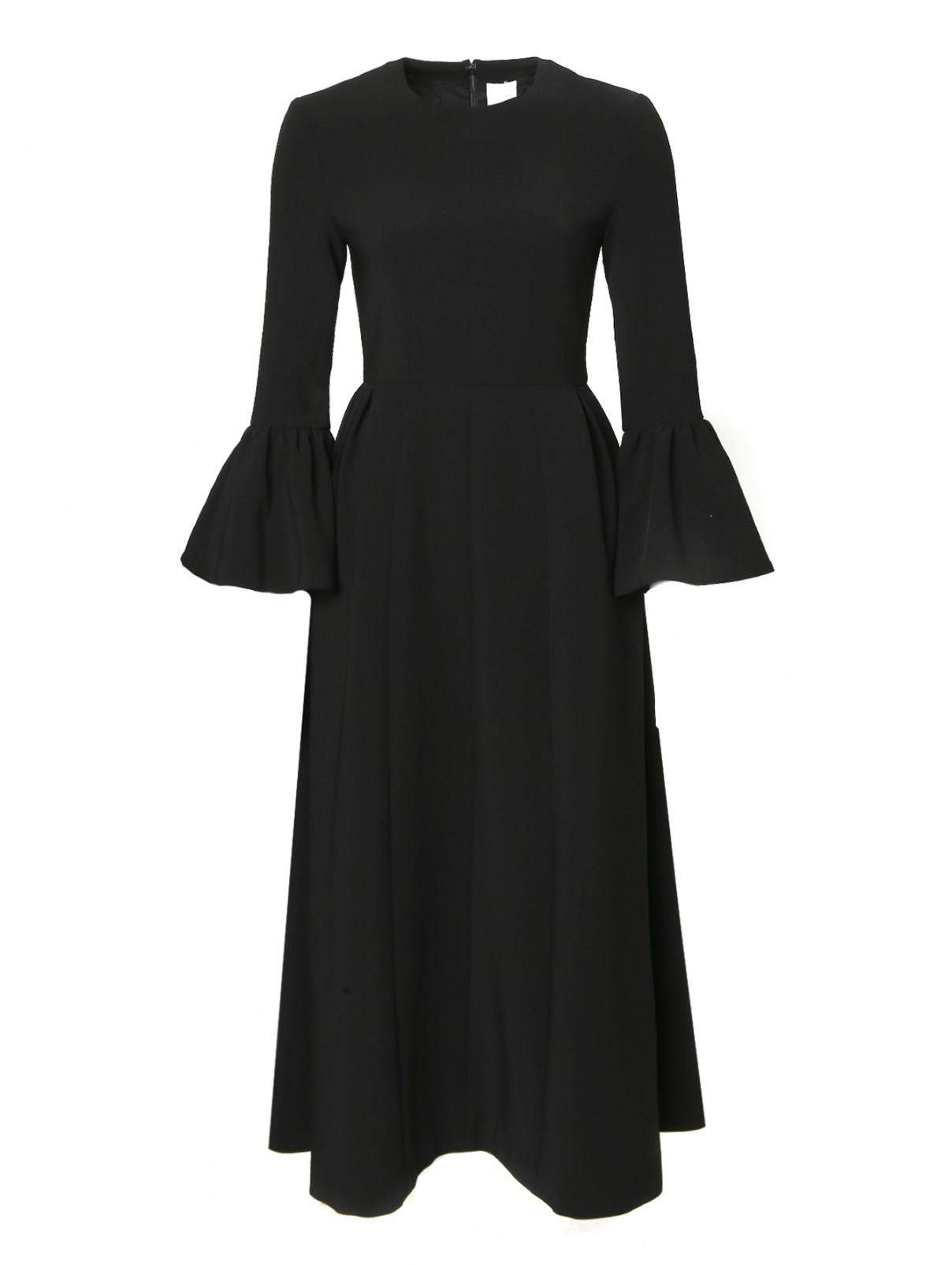 Платье однотонное с карманами Huishan Zhang  –  Общий вид