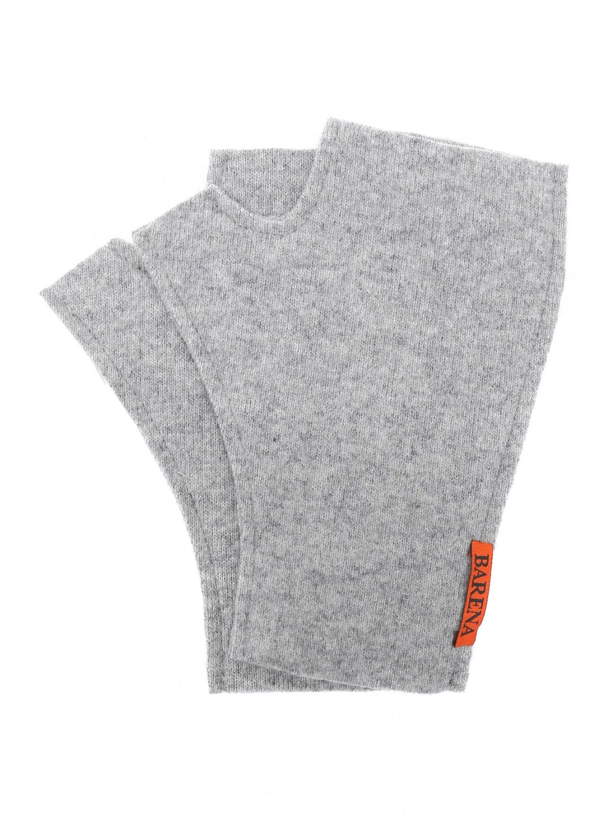Перчатки-митенки  из смесовой шерсти Barena  –  Общий вид