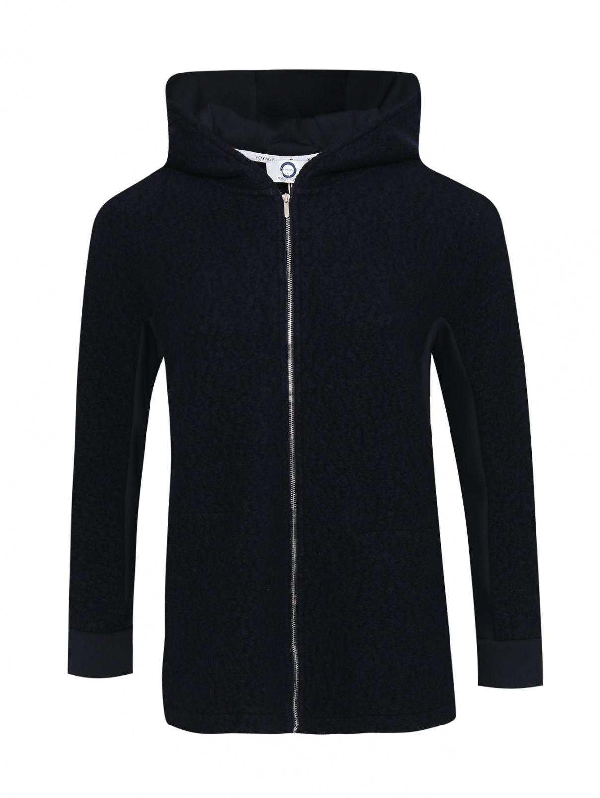 Куртка с добавлением шерсти на молнии Marina Rinaldi  –  Общий вид