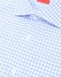"""Рубашка из хлопка с узором """"клетка"""" Isaia  –  Деталь"""