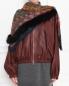Платок из кашемира и шелка с отделкой мехом лисы Etro  –  МодельВерхНиз