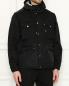 Куртка свободного кроя с карманами Moncler  –  МодельВерхНиз