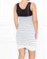 Полосатое платье на бретелях Jean Paul Gaultier  –  Модель Верх-Низ1
