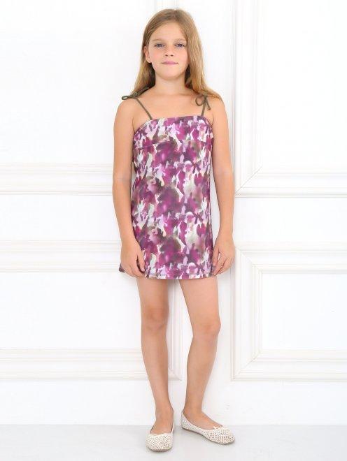 Платье пляжное с узором - Общий вид